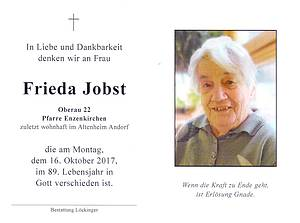Frieda Jobst